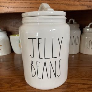Rae Dunn LARGE Jelly Bean Canister